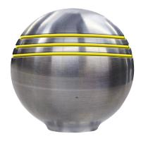 "Schmitt  Ongaro Throttle Knob - 1-?"" - Gold Grooves [50048]"