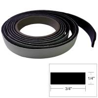 "TACO Hatch Tape - 8'L x 1/4""H x ""W - Black [V30-0748B8-2]"