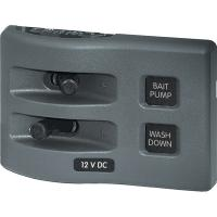 Blue Sea 4303 WeatherDeck 12V DC Waterproof Switch Panel - 2 Position [4303]