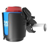 RAM Mount Tough-Claw Mount w/Self-Leveling Cup Holder [RAM-B-132-400U]