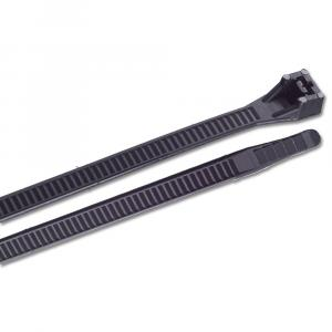 "Ancor 15"" UV Black Heavy Duty Cable Zip Ties - 25 Pack [199259]"