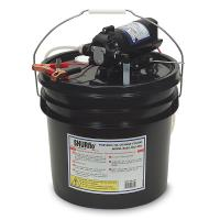 Shurflo by Pentair Oil Change Pump w/3.5 Gallon Bucket - 12 VDC, 1.5 GPM [8050-305-426]