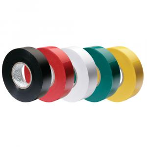 "Ancor Premium Assorted Electrical Tape - 1/2"" x 20' - Black / Red / White / Green / Yellow [339066]"
