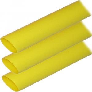 "Ancor Adhesive Lined Heat Shrink Tubing (ALT) - 1"" x 6"" - 3-Pack - Yellow [307906]"