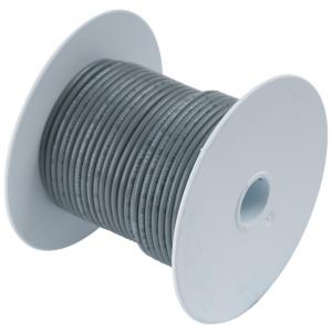 Ancor Grey 18 AWG Tinned Copper Wire - 100' [100410]