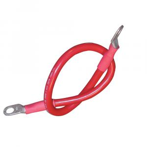 "Ancor Battery Cable Assembly, 2 AWG (34mm) Wire, 3/8"" (9.5mm) Stud, Red - 32"" (81.2cm) [189145]"