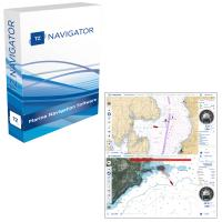 Nobeltec TZ Navigator Software On USB Flashdrive & NOAA Charts Installed [TZ-100-107]