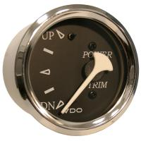 VDO Allentare Black Trim Gauge - For Use w/Mercury/Volvo/Yamaha 2001+ Engines - 12V - Chrome Bezel [382-11275]