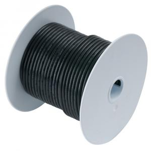 Ancor Black 6 AWG Tinned Copper Wire - 50' [112005]
