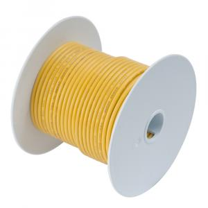 Ancor Yellow 6 AWG Tinned Copper Wire - 100' [112910]