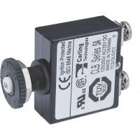 Blue Sea Push Button Reset Only Screw Terminal Circuit Breaker - 5 Amps [2130]