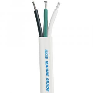 Ancor White Triplex Cable - 16/3 AWG - Flat - 250' [131725]