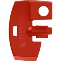 Blue Sea 7903 Battery Switch Key Lock Replacement - Red [7903]
