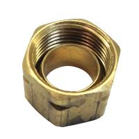 Uflex Brass Compression Nut w/Sleeve #61CA-6 [71004K]