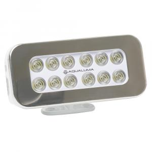 Aqualuma Bracket Mount Spreader Light 12 LED - Stainless Steel Bezel [SL12BMS]