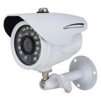 Speco HD-TVI 2MP Color Waterproof Marine Bullet Camera w/IR, 10 Cable, 3.6mm Lens, White Housing [CVC627MT]