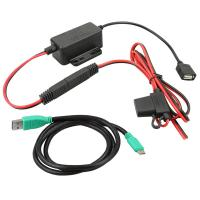 RAM Mount GDS Modular Hardwire Charger w/Type C Cable [RAM-GDS-CHARGE-V7-USBCU]