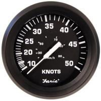 "Faria 4"" Speedometer 50 Knot - Chesapeake White - Stainless Steel Bezel [SE9658]"
