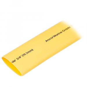 "Ancor Heat Shrink Tubing 3/4"" x 48"" - Yellow - 1 Piece [306948]"