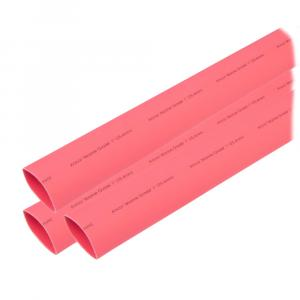 "Ancor Heat Shrink Tubing 1"" x 6"" - Red - 3 Pieces [307606]"