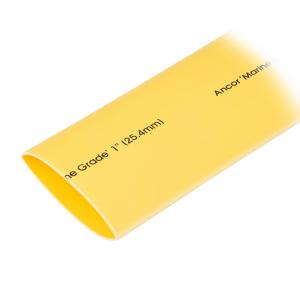 "Ancor Heat Shrink Tubing 1"" x 48"" - Yellow - 1 Pieces [307948]"