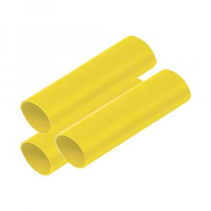 "Ancor Battery Cable Adhesive Lined Heavy Wall Battery Cable Tubing (BCT) - 3/4"" x 12"" - Yellow - 3 Pieces [326924]"