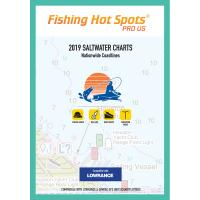Fishing Hot Spots Pro SW 2019 Saltwater Charts Nationwide Coastlines f/Lowrance  Simrad Units [E189]