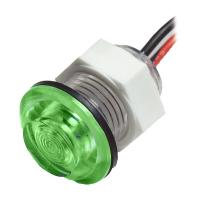 Innovative Lighting LED Bulkhead Livewell Light Flush Mount - Green [011-3500-7]
