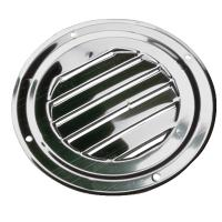 "Sea-Dog Stainless Steel Round Louvered Vent - 4"" [331424-1]"