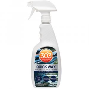 303 Marine Quick Wax with Trigger Sprayer - 32oz *Case of 6* [30213CASE]