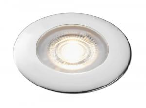 Aqua Signal Atlanta LED Downlight - Warm White LED w/Chrome Housing [16620-7]