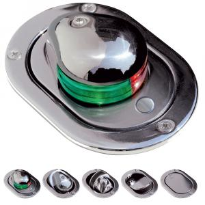 Aqua Signal Series 24 Bi-Color Deck Mount Hideaway Light w/Tell Tale Indicator [24600-7]