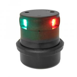 Aqua Signal Series 34 Tri-Color Mast Mount LED Light - Black Housing [34606-7]