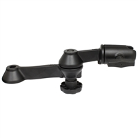 "RAM Mount RAM 12"" Double Swing Arm w/Swivel Socket [RAM-VB-110-1NBU]"
