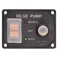 Sea-Dog Splash Guard Bilge Pump Panel w/Circuit [423046-1]