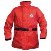 Mustang Classic Flotation Coat - Large - Red [MC1506-L-04]