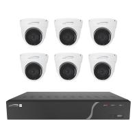 Speco 8 Channel NVR Kit w/6 Outdoor IR 5MP Cameras 2.8mm Fixed Lens - 2TB [ZIPK8T2]