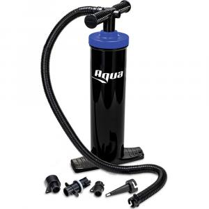 Aqua Leisure Heavy-Duty, Dual-Action Hand Pump w/4 Tips [AQX18967]