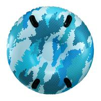 "Aqua Leisure 48"" Pipeline Sno Mega 2-Person Sno-Tube - Blue Camo [PST10891]"