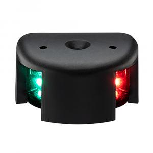 Aqua Signal Series 28 Bi-Color LED Deck Mount Light - Black Housing [28100-7]