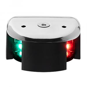 Aqua Signal Series 28 Bi-Color LED Deck Mount Light - Stainless Steel Housing [28105-7]