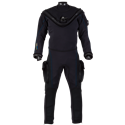 Aqua Lung Fusion Bullet Drysuit W/ Aircore & SLT Oval Rings