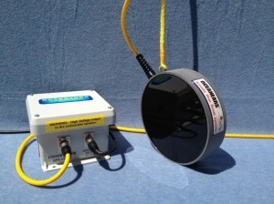 Oceanears DRS-8 Underwater Speaker w/ Transformer Assembly, Pin Suspension Design & 25 ft of Cable