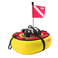 "Brownie's Third Lung Floating Hookah ""Explorer"" Package, 3 Diver"
