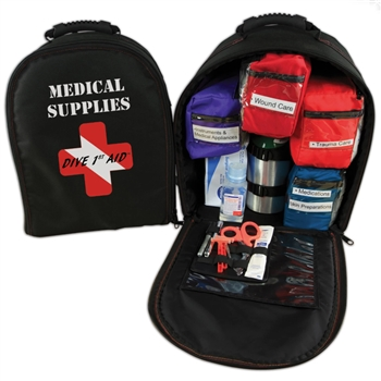 Dive 1st Aid Pro O2 Kit (Backpack)