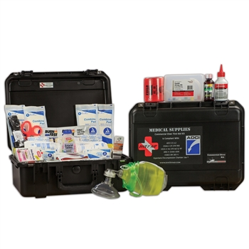 Dive 1st Aid Commercial Diver Kit (Hard Case)