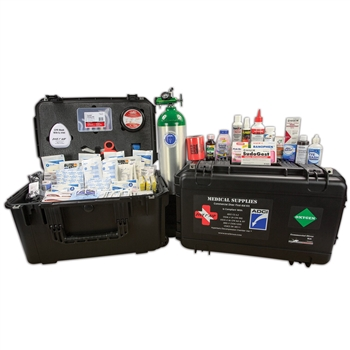 Dive 1st Aid Commercial Diver Kit W/ O2