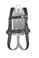 Atlantic Diving Equipment Full Body Harness With Roller Buckles ADCI Approved