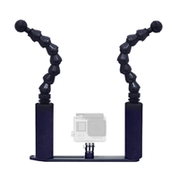 Big Blue Flexible Double-Arm Camera Tray