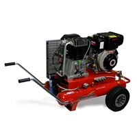 Nuvair Nomad Two-Stage Low Pressure Diesel Compressor 23 CFM @ 145 psi w/ Filtration